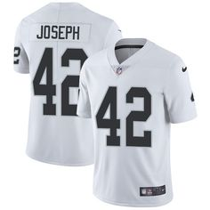 accf6d3ead7 Nike Raiders  42 Karl Joseph White Men s Stitched NFL Vapor Untouchable  Limited Jersey Cycling Clothing