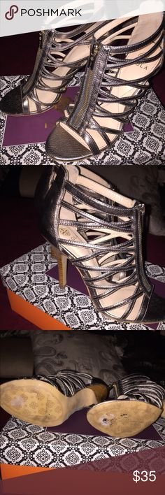 👠 ISOLA Heels 😍😍 Worn once, with jeans and I loved them. Hate to see these go but I'm a 6 1/2 and these are a 6 so they were a bit uncomfortable for me 😅 but these are adorable! No Trades No Holds. Purchased at Nordstrom 🤗 isola Shoes Heels