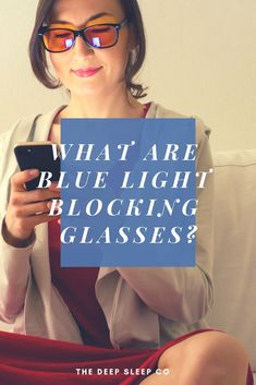 Are you wondering what exactly blue light blocking glasses are, how they work, and if they can help you? Read our simple explanation of blue blocking glasses to find out if they are right for you. Glasses Outfit, When You Cant Sleep, Sleep Medicine, Good Sleep, Sleep Better, Natural Sleep Remedies, Computer Glasses, Trouble Sleeping, Eye Strain