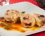 Bolas de carne sorpresa con mojo picón - CHFF. Bruno Oteiza