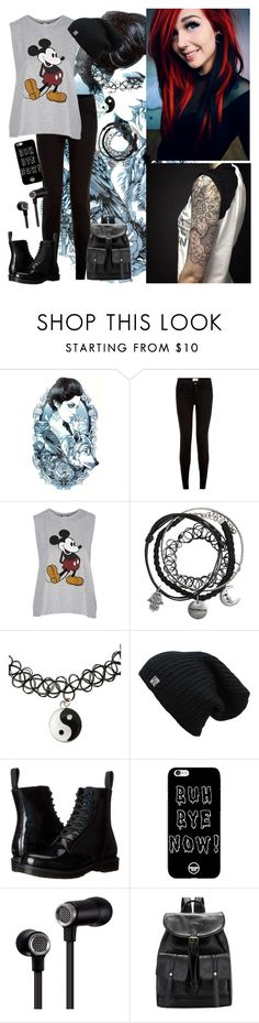 """""""Shopping In New York"""" by infinite-exo-girl ❤ liked on Polyvore featuring New Look, Topshop, Dr. Martens and Master & Dynamic"""