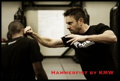Hammerfist : Krav Maga Technique: How to Fight w/ Hammerfist to the side...