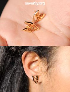 These earrings are not only cute... they also GIVE BACK to charity! Get a pair and help save the lives of baby girls in China who are at the risk of being abandoned or killed! ► http://www.sevenly.org/?cid=PINTERESTveronica