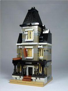 "LEGO Mini Modulars - MOC: ""Haunted House"" | ReBrick"