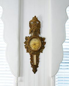 Cool antique barometer! - Traditional Home®
