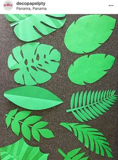 Deco Jungle, Jungle Party, Safari Party, Jungle Theme Parties, Safari Theme Birthday, Luau Birthday, Dinosaur Birthday Party, Paper Flowers Craft, Giant Paper Flowers