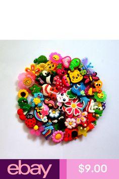 9e6d8847bc95a 50 pcs different Jibbitz Shoe Charms Fit Coc   Jibbitz Bands Bracelet Gifts