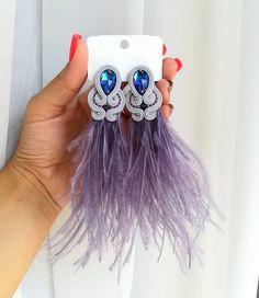 Shibori, Soutache Earrings, Jewerly, Gemstone Rings, Gemstones, Amazing, Black, Style, Fashion