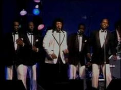"""VERY LAST PERFORMANCE LIVE ON STAGE  WITH ALL """"THE TEMPTATIONS"""" EDDY KENDRICKS & DAVID RUFFIN 1987 in the 'GREAT WESTERN FORUM' LOS ANGELES   wem"""
