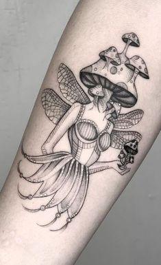 Dope Tattoos, Dream Tattoos, Pretty Tattoos, Future Tattoos, Beautiful Tattoos, Body Art Tattoos, New Tattoos, Small Tattoos, Mushroom Tattoos