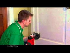 How To Weatherstrip The Bottom of Your Door - Put on a Door Sweep kyGREEN.tv