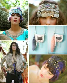 Photoshoot, Gypsy Caravan. Photos by Jazmin Jones, art direction and accessories by me.