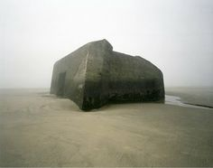 A series of photographs from Guillaume Amat chronicling abandoned WWII beach bunkers in Northern France.