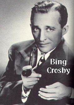 Bing Crosby! in two of my all time favorite movies and sings some of my favorite christmas songs. :)