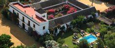 Rural luxury hotel Seville Spain Hacienda de San Rafael