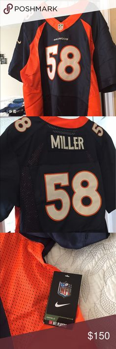 Authentic Nike NFL Broncos - Von Miller Jersey NWT. Authentic NFL Jersey - Von Miller/Denver Broncos Nike Other