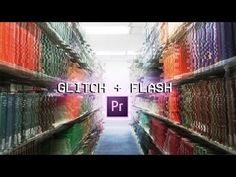 How to create a Glitch + Flash Video Transition Effect in Adobe Premiere Pro (CC 2017 tutorial) - YouTube