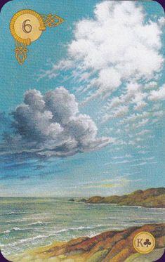 6 Clouds - Celtic Lenormand Deck