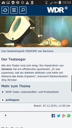 Beautiful Handr hrger t Testsieger Siemens Service Zeit