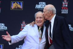 2014: The Year in Entertainment - Photos - UPI.comWriter/director/actor Mel Brooks (L) and director Carl Reiner pose following Brooks' hands and footprints ceremony in the forecourt of the TCL Chinese Theatre (formerly Grauman's), in the Hollywood section of Los Angeles on September 8, 2014.  Read more: http://www.upi.com/News_Photos/2014/2014-The-Year-in-Entertainment/fp/8740/#ixzz3LKrkI57d