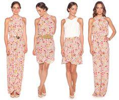 vestidos estampados de alquiler en lamasmona.com