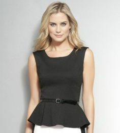 How about trying a fitted peplum blouse over distressed denim and heels for that next night out with your S.O.?  http://ilereve.com/index.php/tops/sleeveless-tops/dolce-vita-anja-lace-peplum-top.html