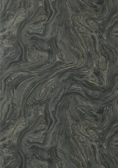 VENUS, Black, T85069, Collection Greenwood from Thibaut