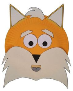 DLTK's Crafts for Kids  Paper Plate Fox Craft