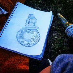 #moonlight #fullmoon #pencildrawing #woman Full Moon, Pencil Drawings, Moonlight, Woman, Instagram, Harvest Moon, Pencil Art