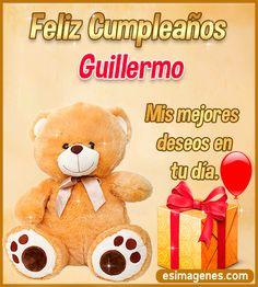 Feliz Cumpleaños Guillermo Happt Birthday, Birthday Cake Write Name, Birthday Cake Writing, Happy Birthday Cupcakes, Happy Birthday Wishes, Birthday Pictures, Birthday Images, Papa Quotes, Lash Extension Mascara