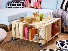 KNAGGLIG box coffee table