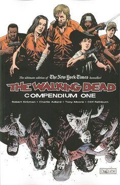 The Walking Dead:  Compendium One by Robert Kirkman http://www.amazon.com/dp/1607060760/ref=cm_sw_r_pi_dp_RZhxvb0WNHMA3