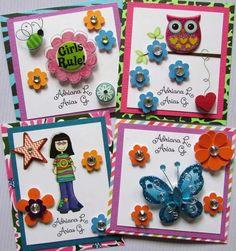 Tarjetas de presentación Facebook Crafts by Iris  @craftsbyiris