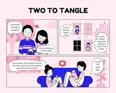 illustrated strip - Google Search All About Dance, Sneaks Up, Tangled, Marriage, Fancy, Comics, Illustration, Life, Google Search