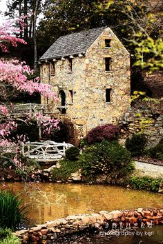 The Old Mill, North Little Rock, Arkansas. I played here all the time as a child.-I love old Mills