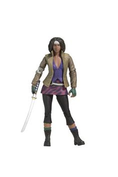 McFarlane Toys The Walking Dead Comic Series 1 - Michonne McFarlane Toys http://www.amazon.com/dp/B004NQXYGE/ref=cm_sw_r_pi_dp_NY7Eub0Z1W9BC