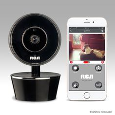 RCA Pet Camera for Dog and Cat Parents from Wifi Pet Security Camera with HD Video 2 Way Audio Night Vision Motion and Sound Alerts and Phone App to Monitor and Talk to Your Pets ** Continuously the product at the image web link. (This is an affiliate link).