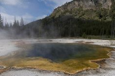 Emerald Pool in Yellowstone National Park