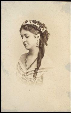 Adelina Patti | Guy Little Theatrical Photograph | C. H. Reutlinger