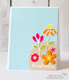 Paper Smooches Floral Thank You