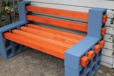 Marvelous From Fab Every Day This Diy Cinder Block Bench Could Be Evergreenethics Interior Chair Design Evergreenethicsorg