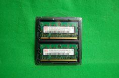 1 GB Kit (2x512MB) Notebook RAM Hynix HYMP564S64BP6-C4 DDR2 PC2-4200 CL4 533MHz