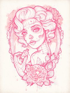 Drink Me Art Print by Satangelica