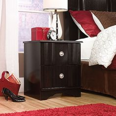 Night Stand – Embassy Point Collection, Wind Oak finish