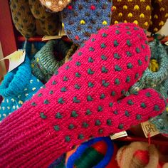 A must have this winter! Handmade mittens with lining by Sheep's Clothing. Available at capebretoncraft.com