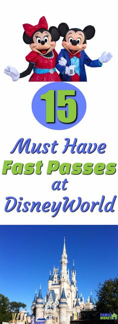 rides are fast pass worthy at Walt Disney World Disney worlds fast pass system is a huge time saver. But you need to know which ones you should book before you get to the park. Here are the top 15 rides to book at Walt Disney World. Disney World Resorts, Voyage Disney World, Fastpass Disney World, Viaje A Disney World, Disney World Rides, Disney World Florida, Disney World Parks, Disney Vacations, Family Vacations