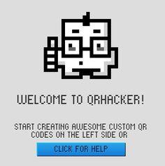 QRHACKER- Custom QR Code Generator  [http://www.qrhacker.com/]  #qr #qrcode #qrhacker