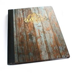 Digitally Printed Wood Veneer Menus - The Smart Marketing Group - Menu covers with a superior finish.