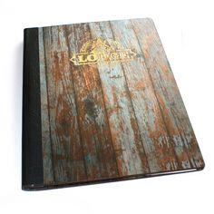Digitally Printed Wood Veneer Menus - The Smart Marketing Group - Menu covers with a superior finish.