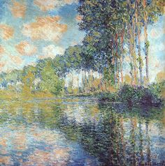 Claude Monet (1840-1926) Poplars on the Epte Oil on canvas 1891